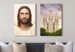 Combo Deals - Temple Picture + Christ Painting