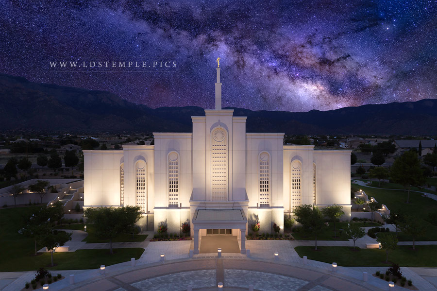 Albuquerque Temple Eternal Creations Print