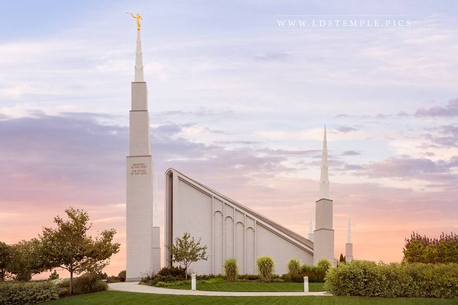 Boise Temple – Fading Light