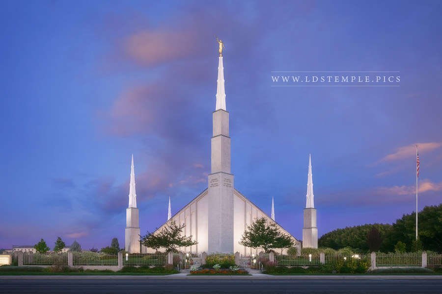 Boise Temple – Morning Blues