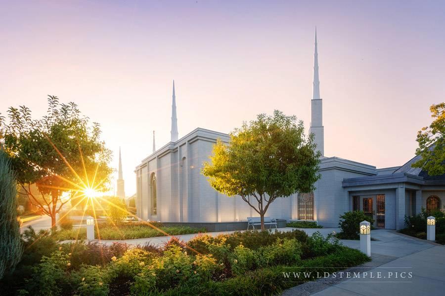 Boise Temple – Sunstar
