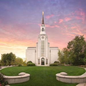 boston-temple-sunset-glow