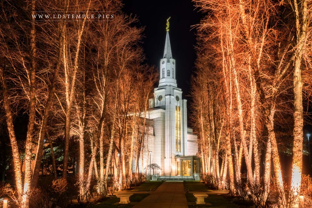 Boston Temple To The Most High Print