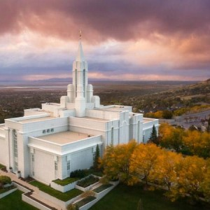 bountiful-temple-aerial-autumn-sunset-north