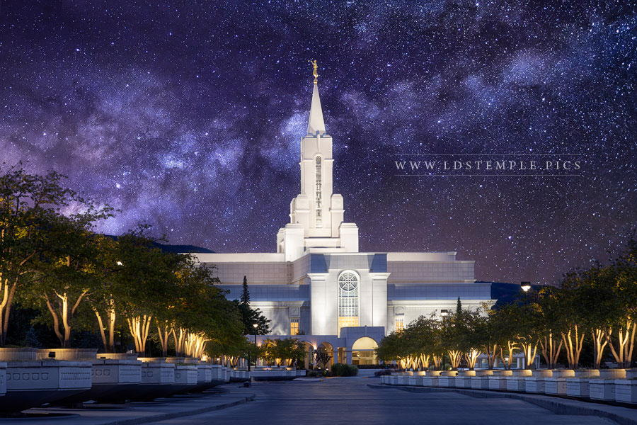 Bountiful Temple For Eternity Print