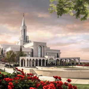bountiful-temple-summer-sunrise-painting