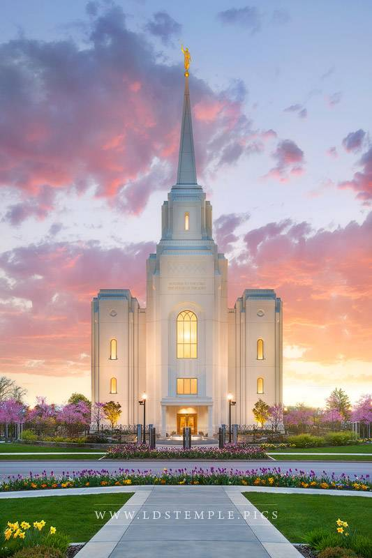 Brigham City Temple Life Renewed Print