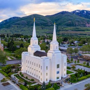 brigham-city-temple-morning-aerial