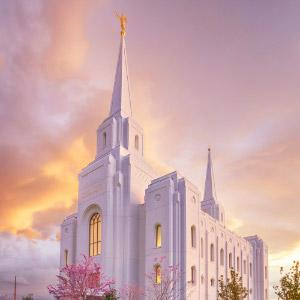 brigham-city-temple-spring-sunset