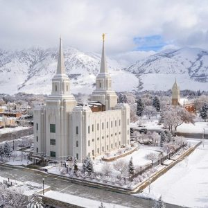 brigham-city-temple-winter-aerial