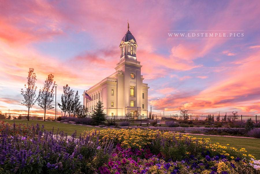 Cedar City Temple Abiding Faith Print