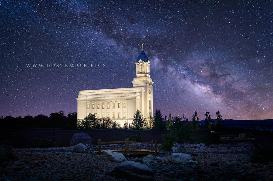 Cedar City Temple Celestial Print