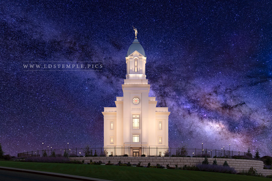 Cedar City Temple Eternal Creations Print