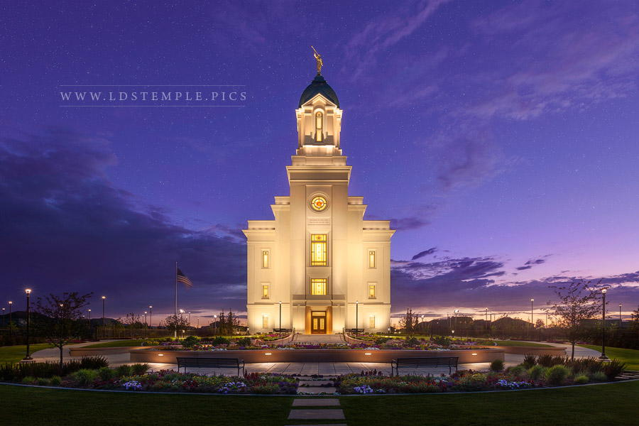 Cedar City Temple Eternal Glory Print