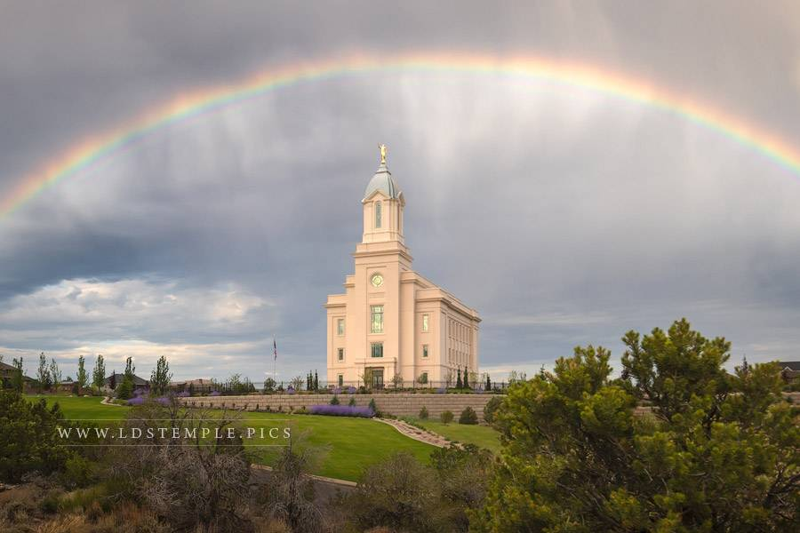 Cedar City Temple The Promise Print