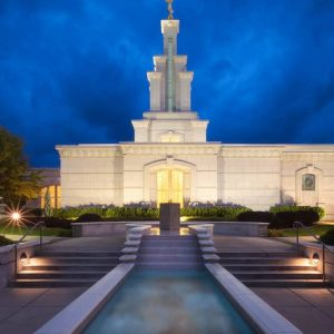 columbia-river-temple-evening-fountain