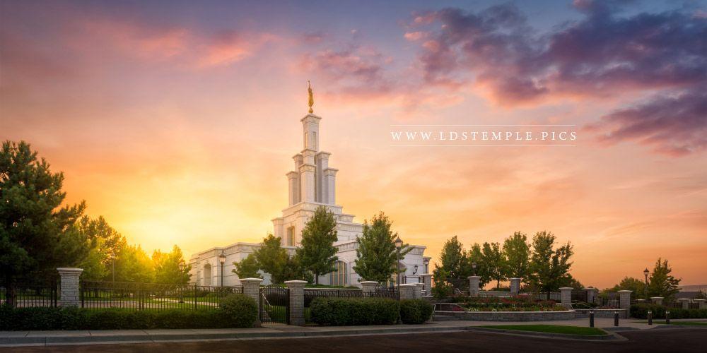 Columbia River Washington Temple Pictures LDS Temple