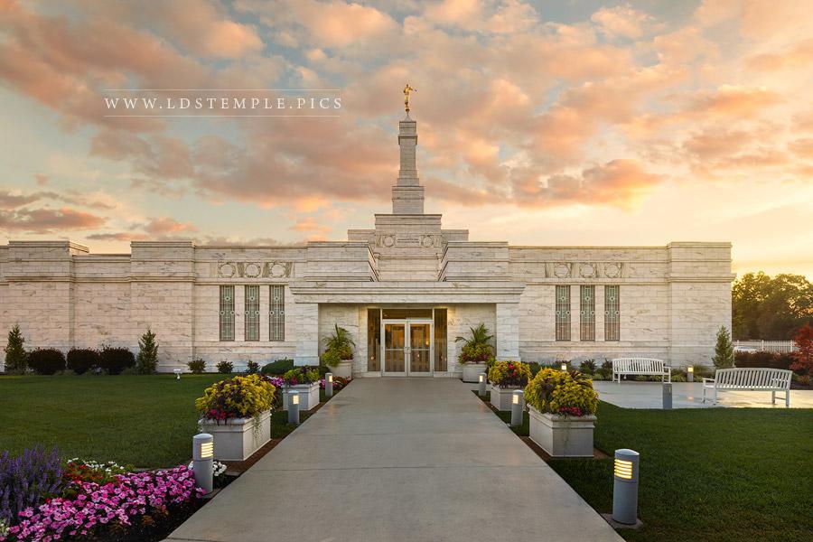 Columbus Temple Pathway To Eternity Print