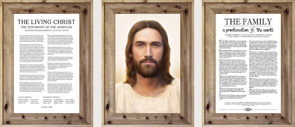 Combo Deal – Christ Painting + 2 Documents Print