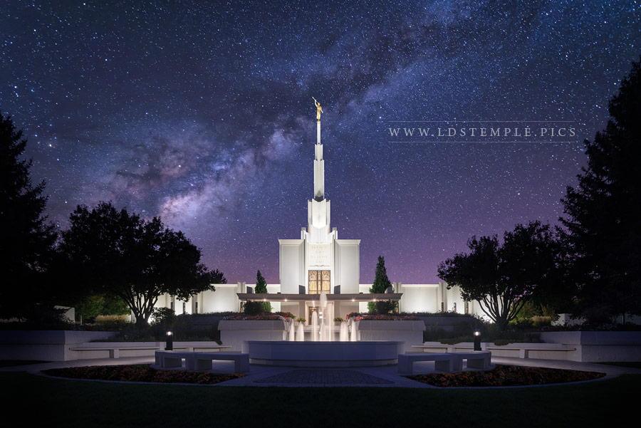 Denver Temple Celestial Print
