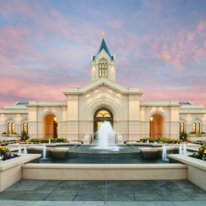 fort-collins-temple-fountain-sunrise