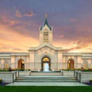 fort-collins-temple-sunset-glow