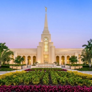 fort-lauderdale-temple-evening-flowers