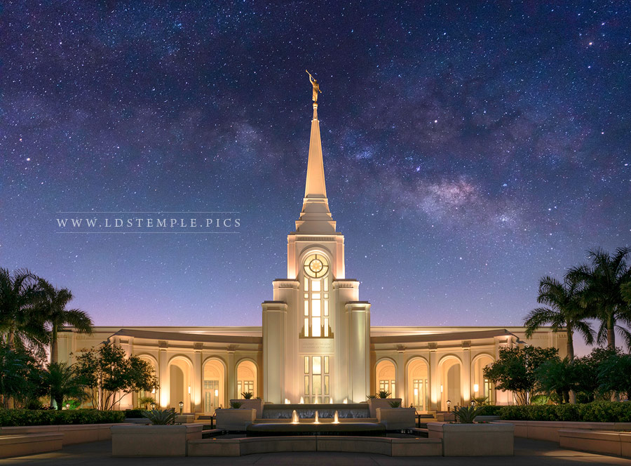 Fort Lauderdale Temple Eternal Creations Print