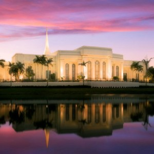 fort-lauderdale-temple-pink-sunrise-reflection-pano