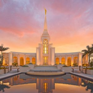 fort-lauderdale-temple-sunset