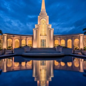 fort-lauderdale-temple-twilight-reflections