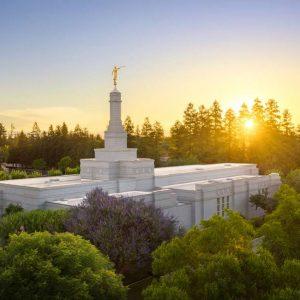 fresno-temple-golden-sunrise