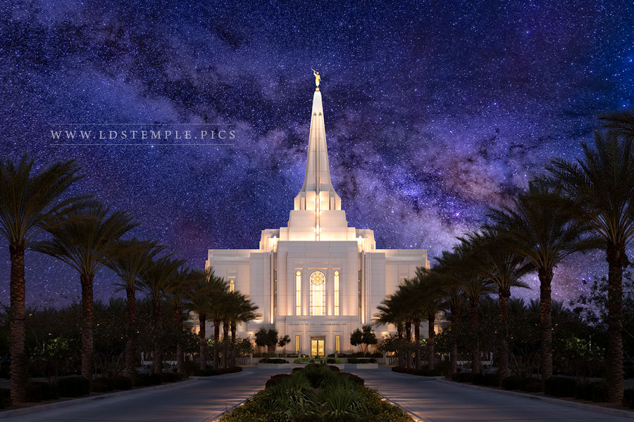 Gilbert Temple Eternal Creations Print