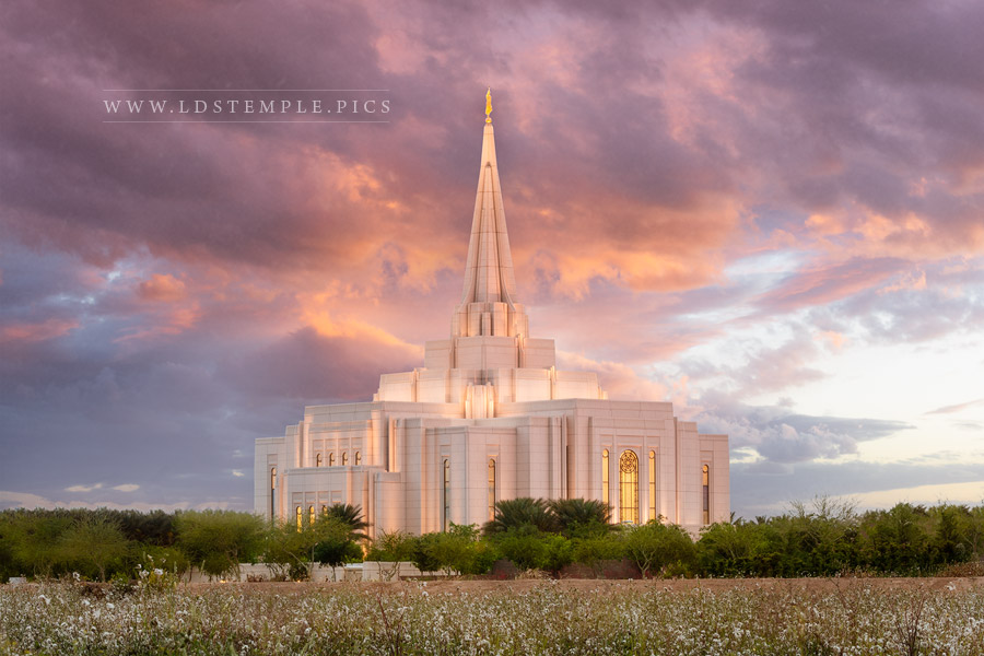 New Temple Pictures From General Conference April 2019