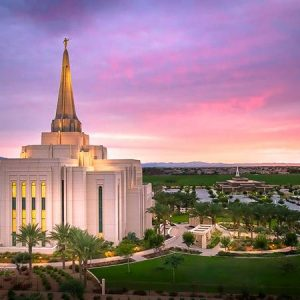 gilbert-temple-pink-sunrise