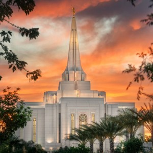 gilbert-temple-sunset-through-the-trees-gil0405