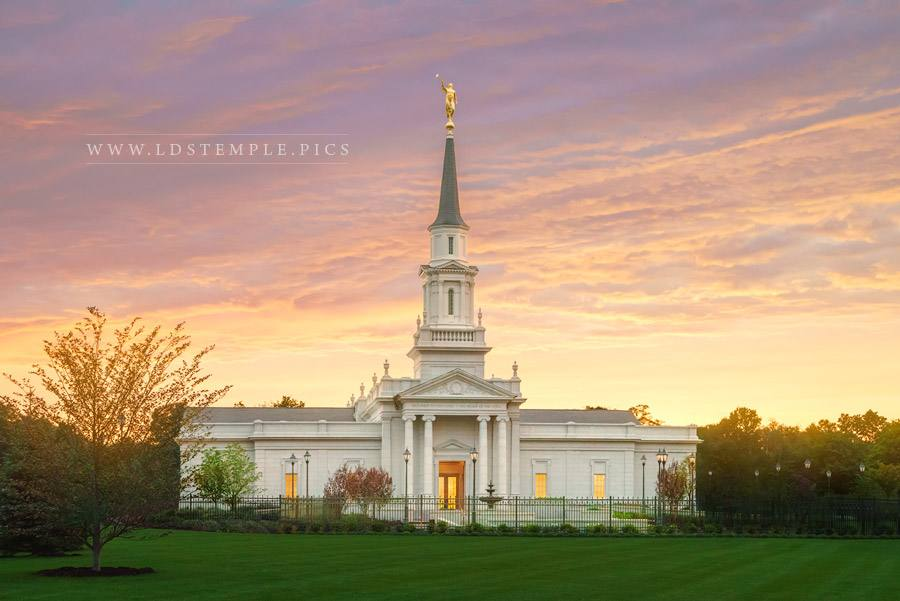 Hartford Temple The Daylight Fades Print