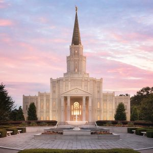 houston-temple-daybreak