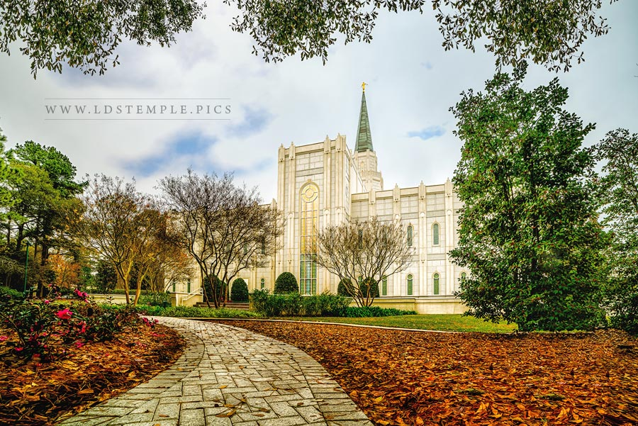 Houston Temple – Path of Righteousness