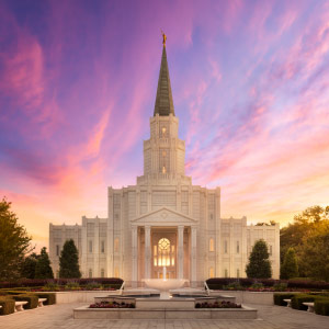 houston-temple-sunset
