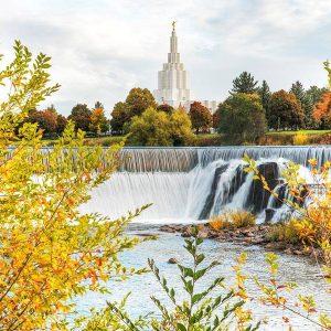 idaho-falls-temple-autumn-falls