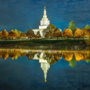 idaho-falls-temple-autumn-twilight