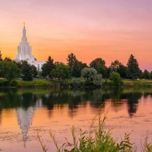idaho-falls-temple-color-reflection
