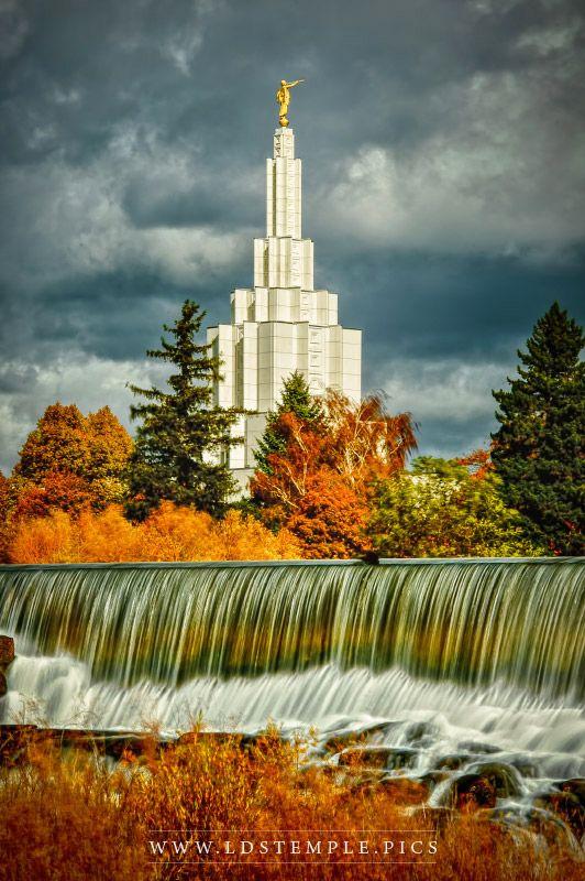 Idaho Falls Temple – Joy Runneth Over