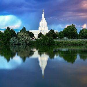 idaho-falls-temple-lightning-reflections