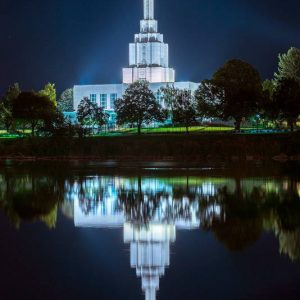 idaho-falls-temple-twilight-reflections