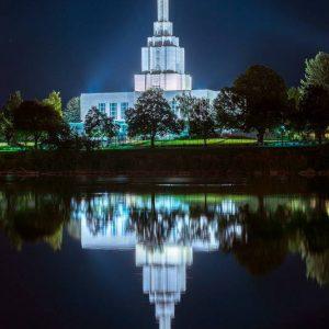 idaho-falls-temple-twilight-reflections