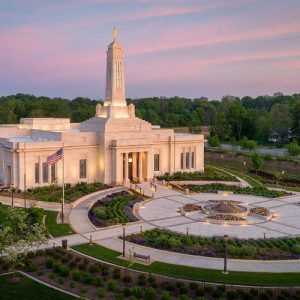 indianapolis-temple-aerial-sunrise