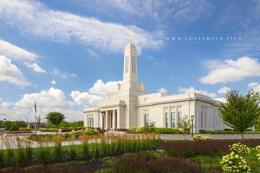 Indianapolis Temple – Daytime