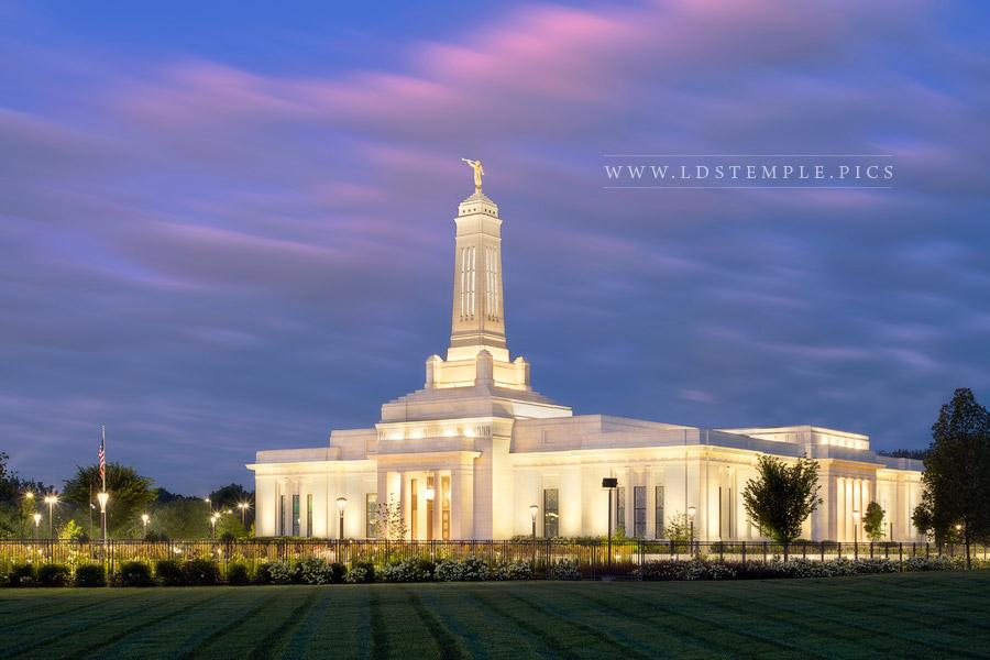 Indianapolis Temple – Twilight